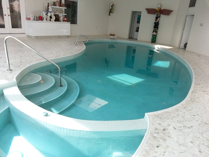 Dry Treat Marble Tile Pool Surround Canada