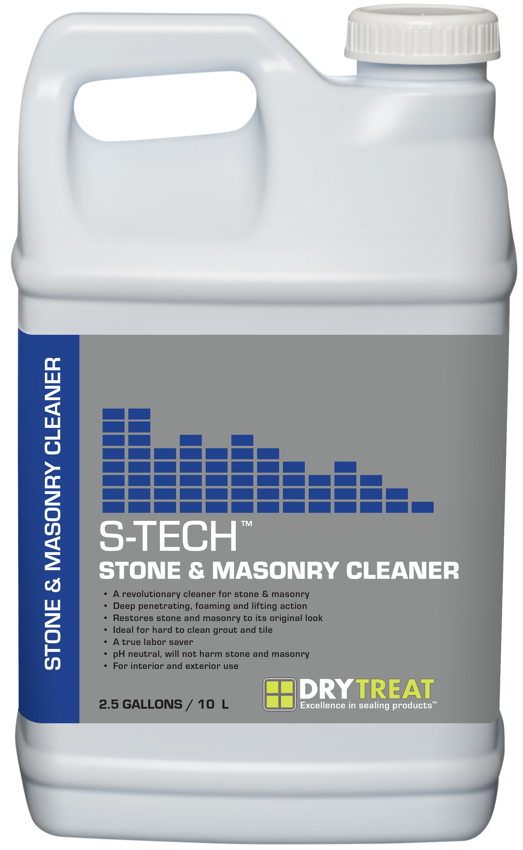99b5a50dd2083 Stone   Masonry Cleaner is specifically designed for cleaning stubborn  organic stains and deeply imbedded dirt on porous stone and masonry.
