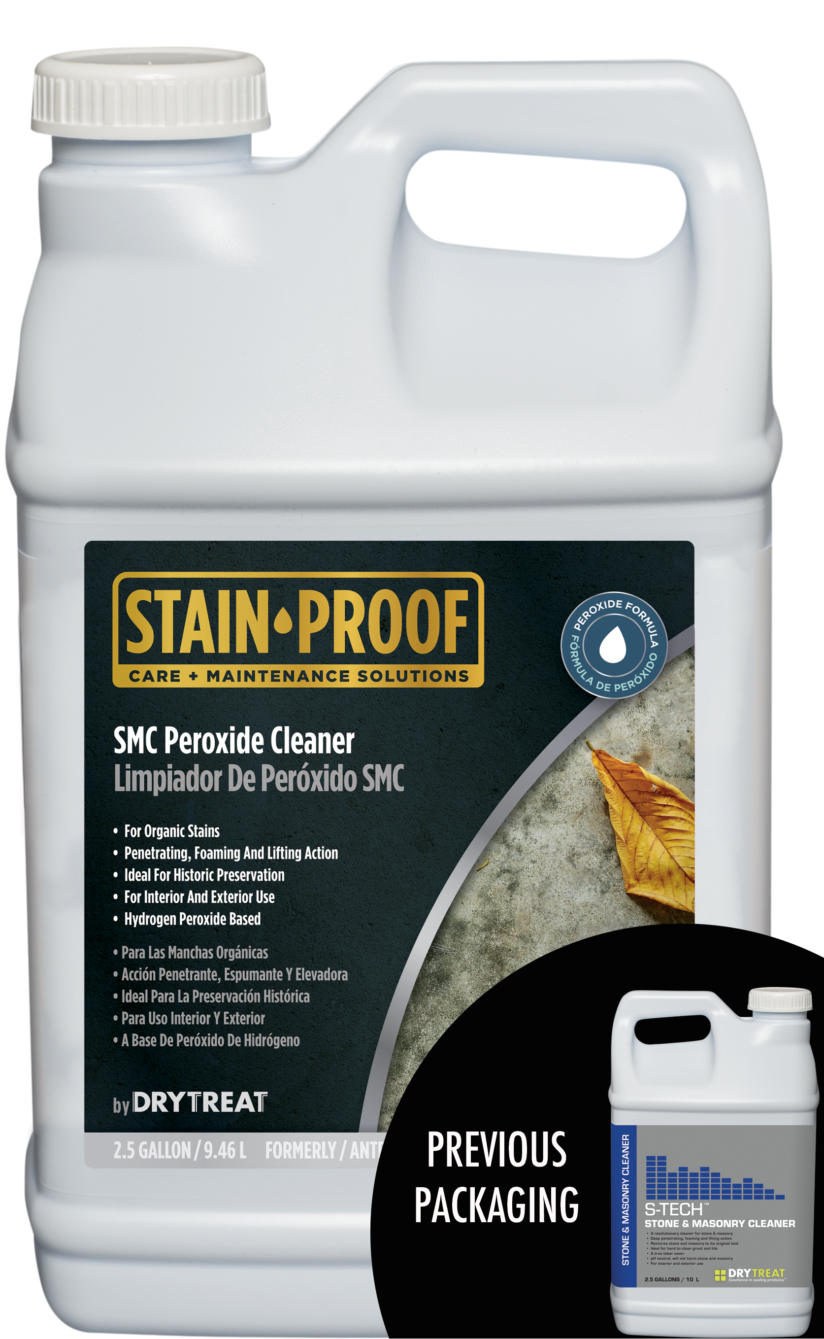 Stain Proof Smc Peroxide Cleaner