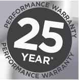 25-year warranty